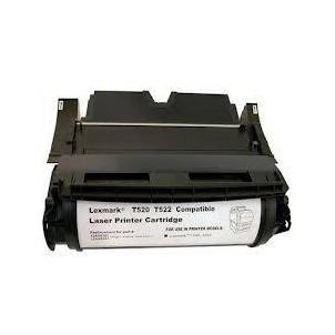 12A6835 Toner Compatibile Nero Per Lexmark T520 T522 X520 X522