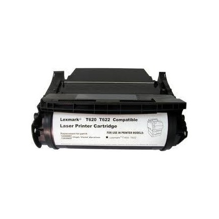 2A6865 Toner Compatibile Nero Per Lexmark T620 T620DN T620IN T620N T622 T622DN T622IN T622N
