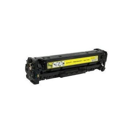 CC532A CRG718 Toner Rigenerato Per Hp E CANON Giallo LBP 7200 7660 Laserjet CM2320 CP2020 2025 MF 8330 8450 8580