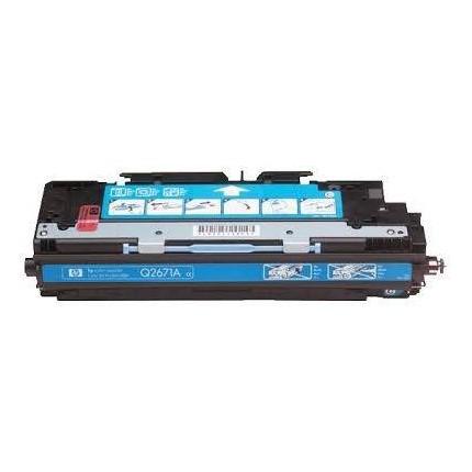 Q2671A Toner Rigenerato Ciano Per Hp LaserJet 3500 LaserJet 3500N LaserJet 3550 LaserJet 3550N