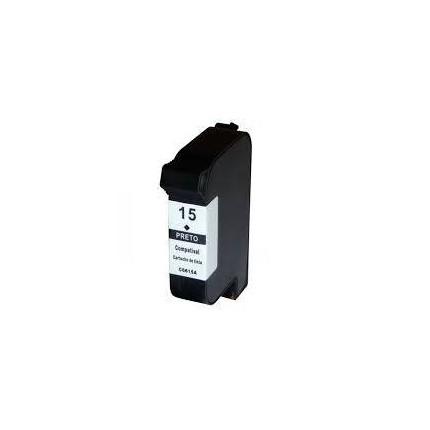 HP15-C6615DE Cartuccia Rigenerato Nera Per HP DeskJet 810C OfficeJet 5105 PSC 500 PhotoSmart 1000