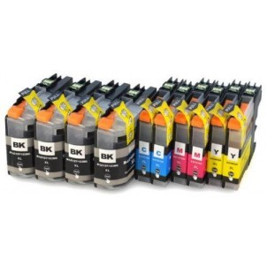 LC127-LC125 Kit 10 Cartucce Compatibili Per Brother MFC-J4410DW MFC-J4510DW MFC-J4610DW MFC-J4710DW