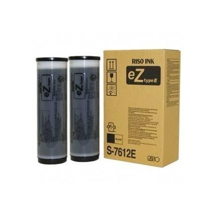 Riso cartuccia pacco doppio nero (S7612E, S7612) Riso cartuccia per Riso EZ 200/ 571 e 570 e altro ancora