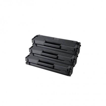 KIT 3 TONER PER SAMSUNG Rigenerati MLT-D101S ML2160 Ml2162 ML2165W SCX3400F SCX3405FW SCX3405W