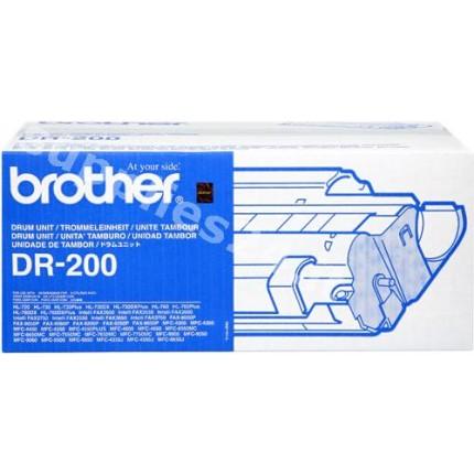 ORIGINAL Brother Tamburo nero DR-200 ~10000 PAGINE