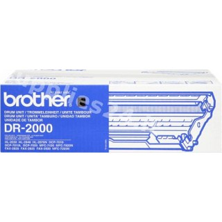 ORIGINAL Brother Tamburo nero DR-2000 ~12000 PAGINE tamburo