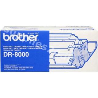 ORIGINAL Brother Tamburo nero DR-8000 ~8000 PAGINE