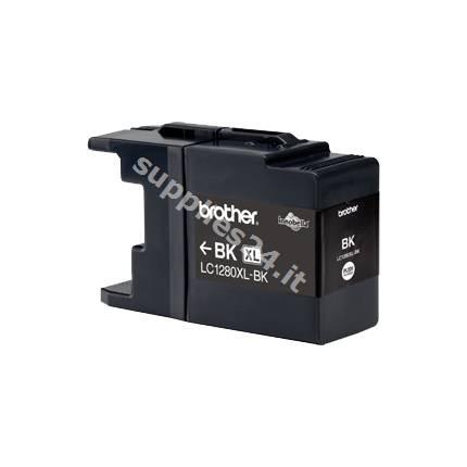 ORIGINAL Brother Cartuccia d'inchiostro nero LC-1280XLBK LC-1280 XL ~2400 PAGINE