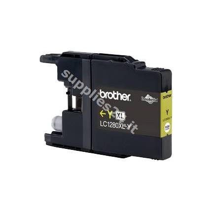 ORIGINAL Brother Cartuccia d'inchiostro giallo LC-1280XLY LC-1280 XL ~1200 PAGINE
