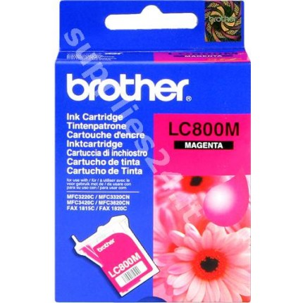 ORIGINAL Brother Cartuccia d'inchiostro magenta LC-800m ~400 PAGINE