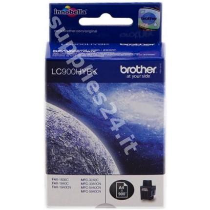 ORIGINAL Brother Cartuccia d'inchiostro nero LC900hybk LC-900 ~900 PAGINE