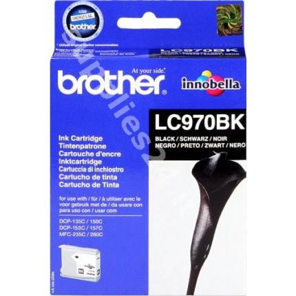 ORIGINAL Brother Cartuccia d'inchiostro nero LC970bk LC-970 ~350 PAGINE