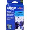 ORIGINAL Brother Cartuccia d'inchiostro ciano LC980c LC-980 ~260 PAGINE