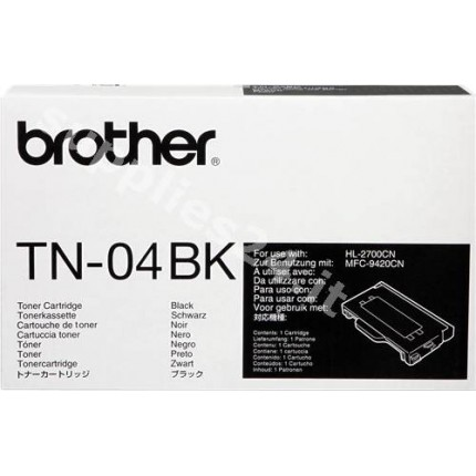 ORIGINAL Brother toner nero TN-04bk ~10000 PAGINE