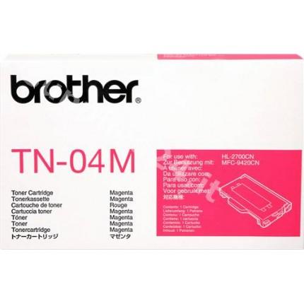 ORIGINAL Brother toner magenta TN-04m ~6600 PAGINE