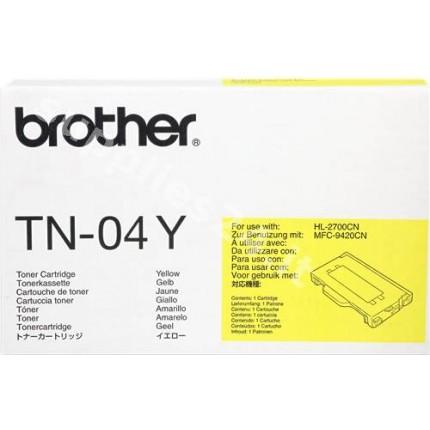 ORIGINAL Brother toner giallo TN-04y ~6600 PAGINE