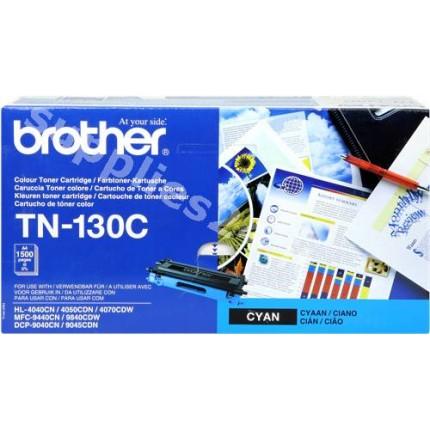 ORIGINAL Brother toner ciano TN-130c ~1500 PAGINE
