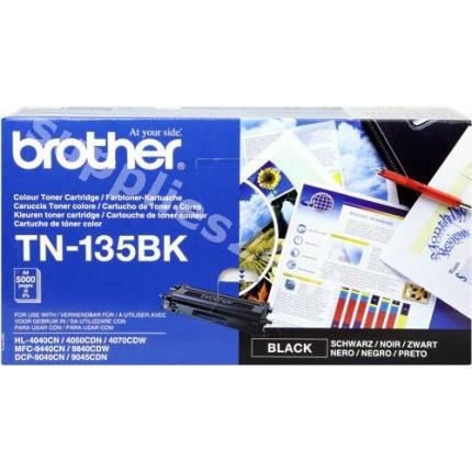 ORIGINAL Brother toner nero TN-135bk ~5000 PAGINE
