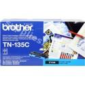 ORIGINAL Brother toner ciano TN-135c ~4000 PAGINE