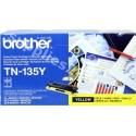 ORIGINAL Brother toner giallo TN-135y ~4000 PAGINE
