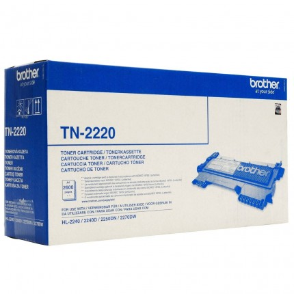 TN-2220 Toner Originale Per Brother DCP 7055 7065 FAX 2840 2940 HL 2130 2240 2250 2270 MFC 7360 7460 7860