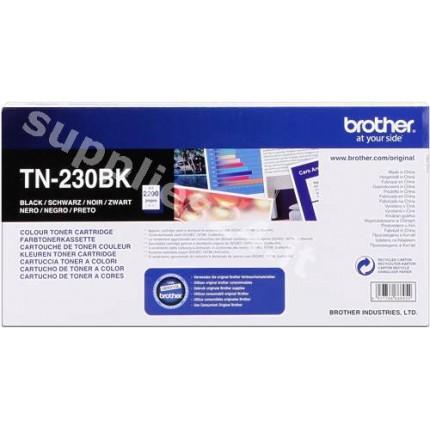 ORIGINAL Brother toner nero TN-230bk ~2200 PAGINE