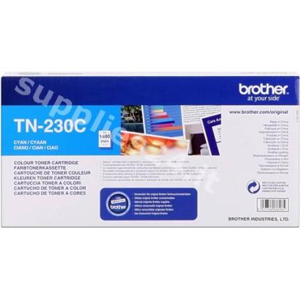 ORIGINAL Brother toner ciano TN-230c ~1400 PAGINE
