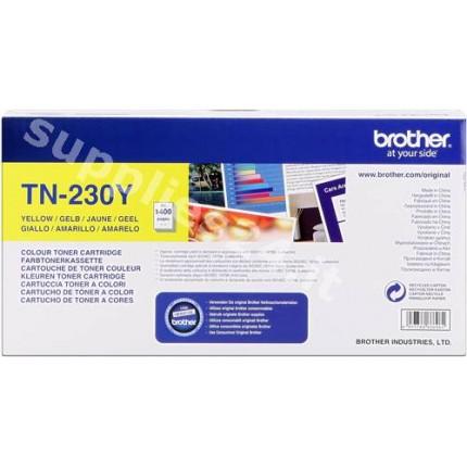 ORIGINAL Brother toner giallo TN-230y ~1400 PAGINE