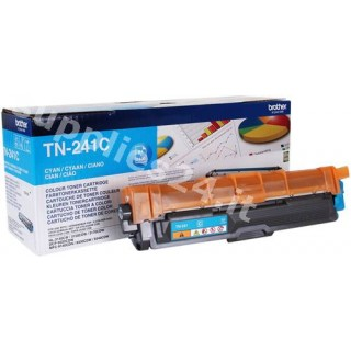 ORIGINAL Brother toner ciano TN-241C ~1400 PAGINE