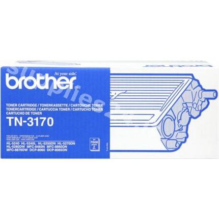 ORIGINAL Brother toner nero TN-3170 ~7000 PAGINE