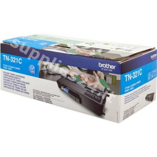 ORIGINAL Brother toner ciano TN-321C ~1500 PAGINE