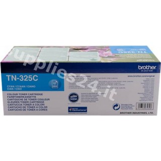ORIGINAL Brother toner ciano TN-325C ~3500 PAGINE
