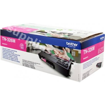 ORIGINAL Brother toner magenta TN-326M ~3500 PAGINE