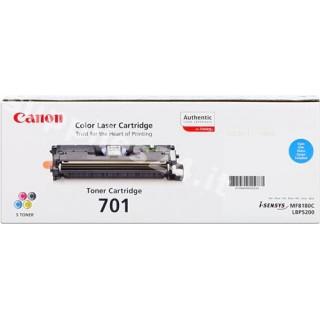 ORIGINAL Canon toner ciano 701c 9286A003 ~4000 PAGINE