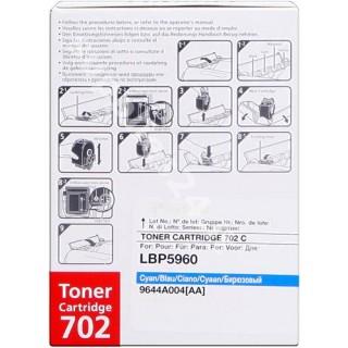 ORIGINAL Canon toner ciano 702c 9644A004 ~6000 PAGINE