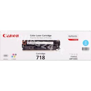 ORIGINAL Canon toner ciano 718 C 2661B002 ~2900 PAGINE