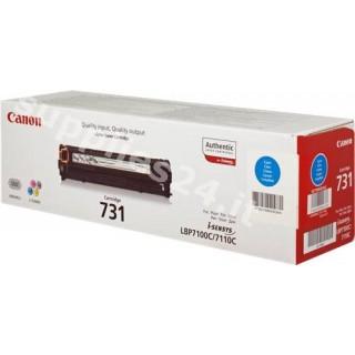 ORIGINAL Canon toner ciano 731 C 6271B002 ~1500 PAGINE