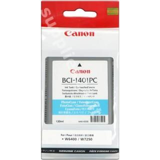 ORIGINAL Canon Cartuccia d'inchiostro ciano (foto) BCI-1401pc 7572A001 130ml