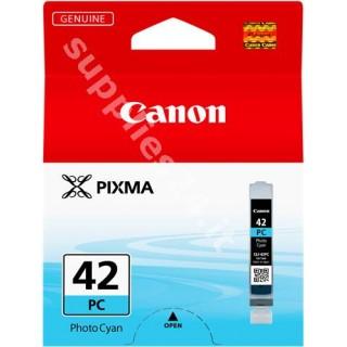 ORIGINAL Canon Cartuccia d'inchiostro ciano (foto) CLI-42pc 6388B001 13ml