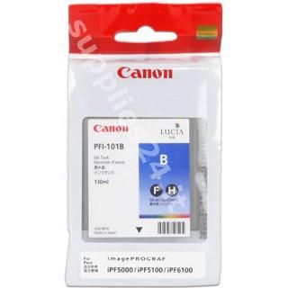 ORIGINAL Canon Cartuccia d'inchiostro blu PFI-101b 0891B001