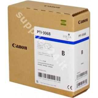 ORIGINAL Canon Cartuccia d'inchiostro blu PFI-306b 6665B001 330ml