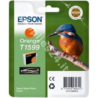 ORIGINAL Epson Cartuccia d'inchiostro arancione C13T15994010 T1599 17ml
