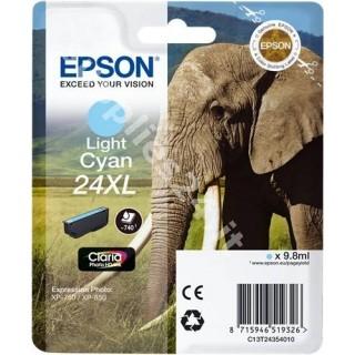 ORIGINAL Epson Cartuccia d'inchiostro ciano (chiaro) C13T24354010 T2435 ~740 PAGINE 9.8ml XL