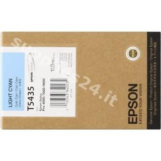 ORIGINAL Epson Cartuccia d'inchiostro ciano (chiaro) C13T543500 T543500 110ml