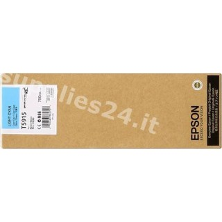 ORIGINAL Epson Cartuccia d'inchiostro ciano (chiaro) C13T591500 T5915 700ml