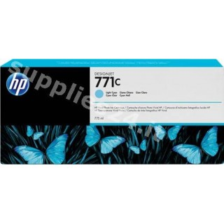 ORIGINAL HP Cartuccia d'inchiostro ciano (chiaro) B6Y12A 771C 775ml