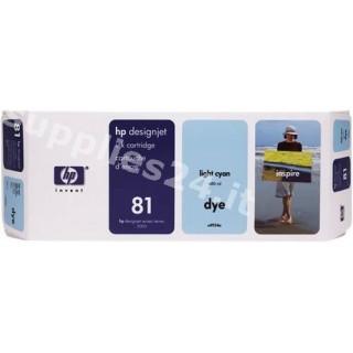 ORIGINAL HP Cartuccia d'inchiostro ciano (chiaro) C4934A 81 680ml