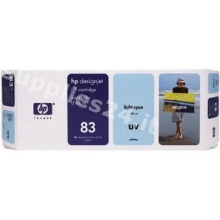 ORIGINAL HP Cartuccia d'inchiostro ciano (chiaro) C4944A 83 680ml UV