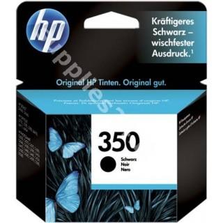 ORIGINAL HP Cartuccia d'inchiostro nero CB335EE 350 ~200 PAGINE ink cartridge, standard