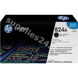 ORIGINAL HP Tamburo nero CB384A 824A ~35000 PAGINE tamburo